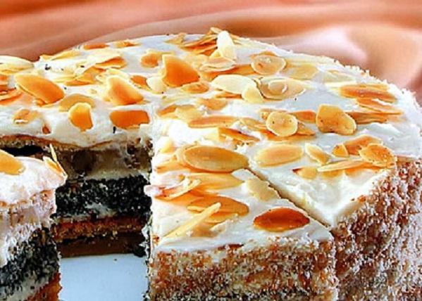 Торт сметанник многослойный рецепт с пошагово