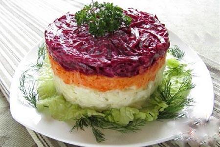 Рецепты салата из свеклы с фото