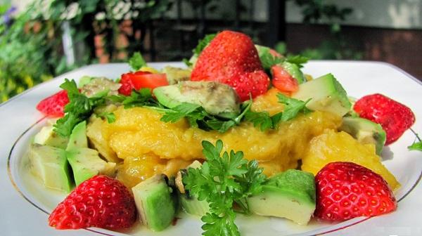 рецепты легких салатов с перцем