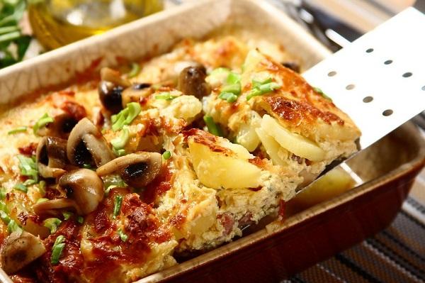 приготовления свинины с картошкой в духовке фото рецепт