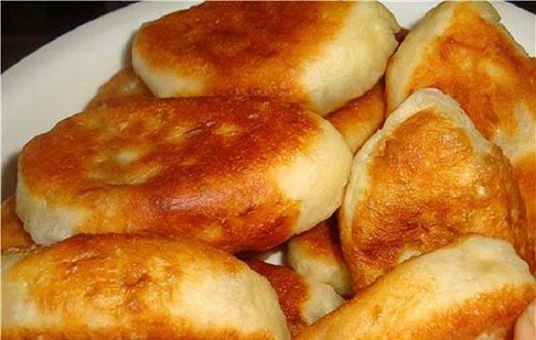 Картофельное тесто для пирожков на сковороде пошагово