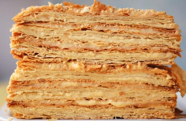 рецепт торта наполеон закусочный из готовых коржей