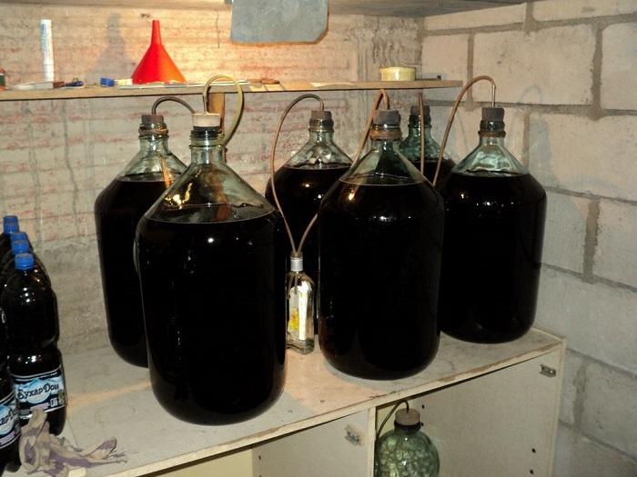 Самодельное вино из варенья в домашних условиях простой рецепт