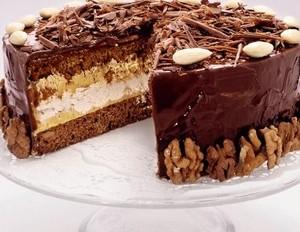 рецепт пирога на день рождения торт