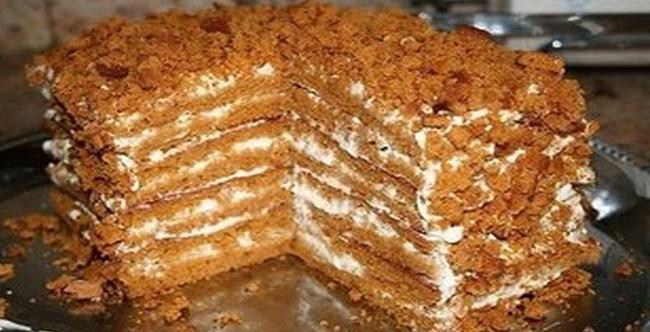 простой рецепт медового торта с фото