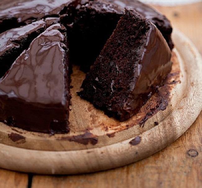 шоколадный кекс рецепт с шоколадкой без молока-хв9