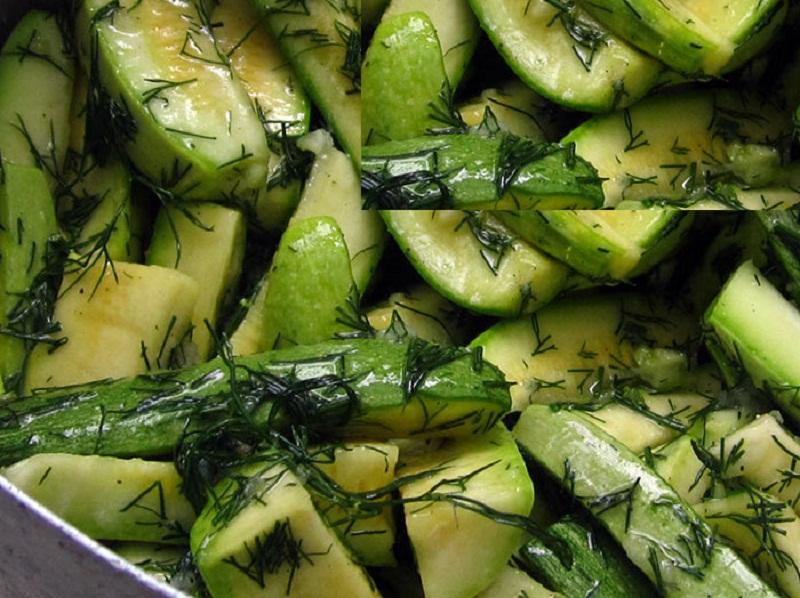 Кабачки рецепты приготовления с фото на зиму